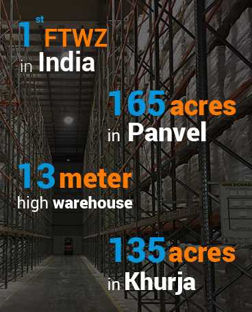 Arshiya's Free Trade Warehousing Zones
